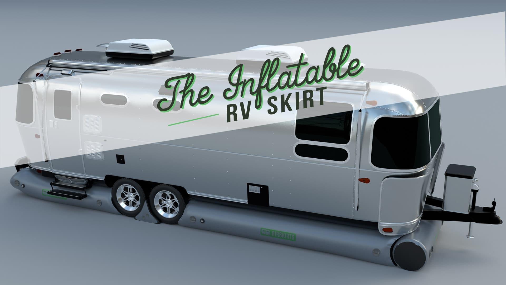 RV Skirting Airstream Fifth Wheel Camper