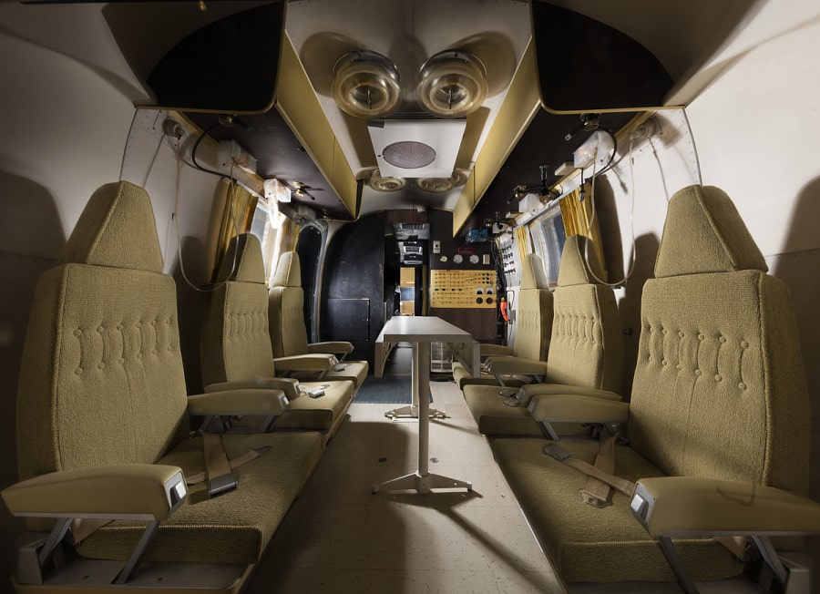 Airstream Skirt Interior
